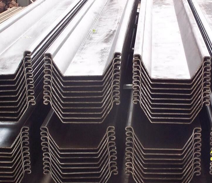 EN10249-1 / EN10249-2 Different specification Cold Rolled U Type Steel Sheet Pile
