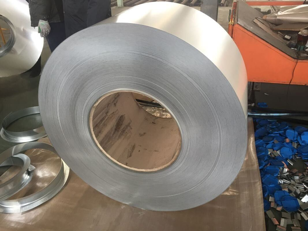 custom cut JIS, CGCC Soft commercial and Lock forming Prepainted Color Steel Coils / Coil
