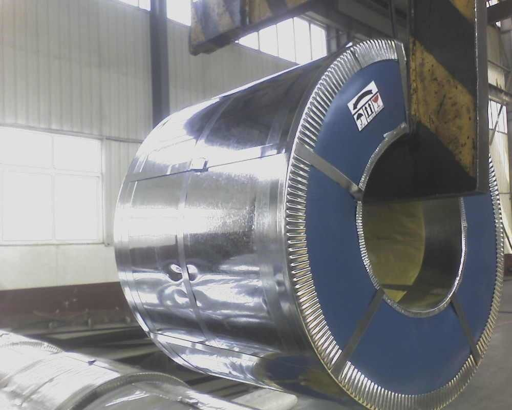 Hot Dipped Galvanized Steel Coils , DX51D Galvanized Steel Coil