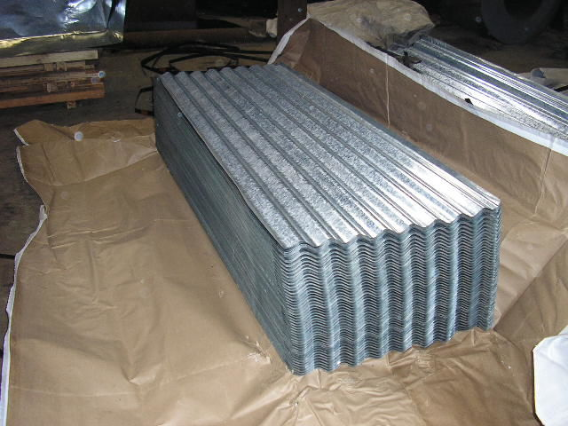 AS 1397, G550, ASTM, A653, JIS G3302, FULL HARD Galvanized Corrugated Roofing Sheet