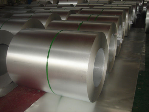 SPCC / SPCD Hot Dipped Galvanized Steel Coils , AZ Galvalume Steel Coil