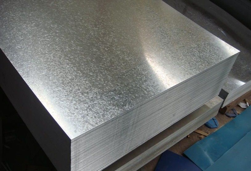 Regular, Minimized Or Big Spangle Hot Dipped Galvanized Steel Sheet With JIS G3302 SGCC