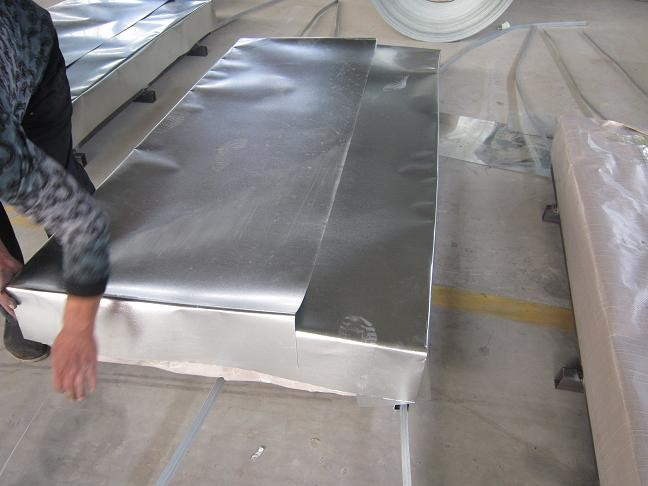 Zinc Hot Dipped Galvanized Steel Sheet / Sheets , Passivated ( Chromated )