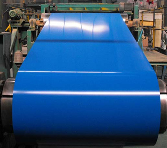 1250mm Sgcc Blue Ral ASTM A792 Ppgi Roofing Sheet