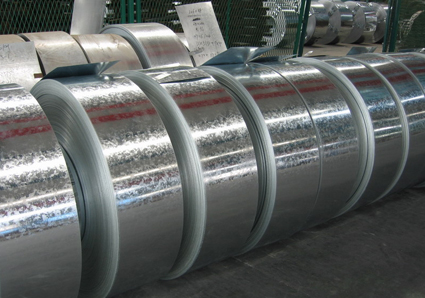 Regular or Big spangle ASTM A653 Hot Dipped Galvanized Steel Strip With Passivated, Oiled